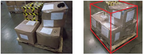 Ship boxes from the USA abroad