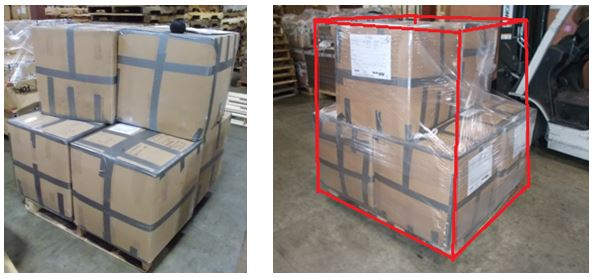 Shipping boxes from the USA overseas