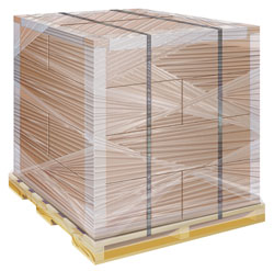 Why should you palletize shipping boxes in Int'l freight?